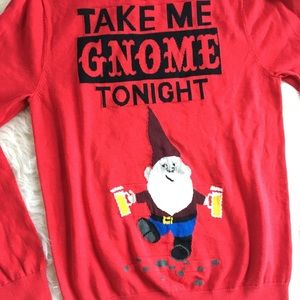 Mossimo Supply Co Sweaters Take Me Gnome Tonight Ugly Christmas